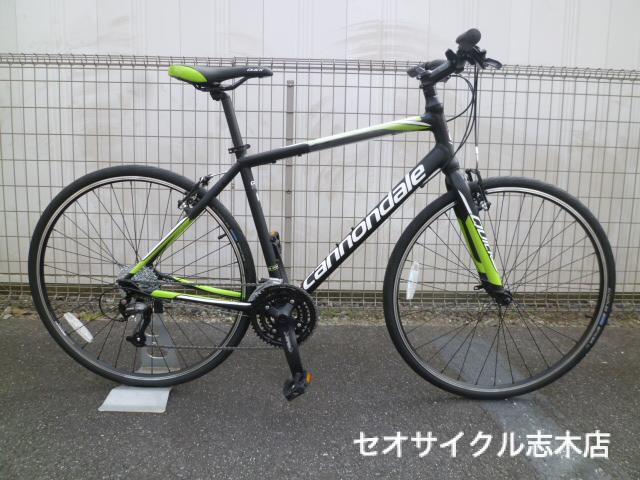 自転車の 自転車 おすすめ ブランド シティサイクル : CANNONDALE QUICK 5(2016) | クロス ...