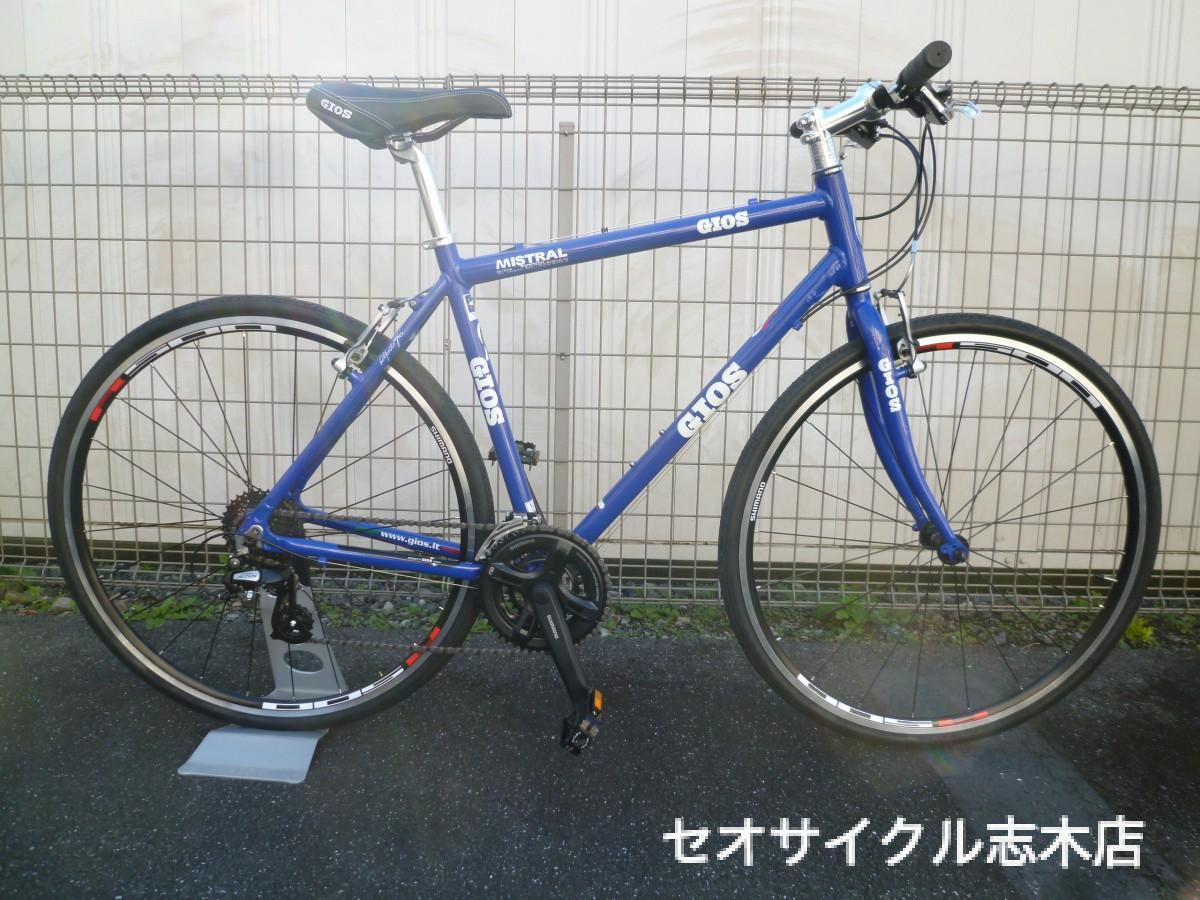 自転車の 自転車 おすすめ ブランド シティサイクル : GIOS MISTRAL(2016) | おすすめ自転車 ...