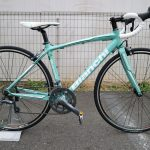 Bianchi VIA NIRONE 7  PRO SHIMANO CLARIS  お求めやすくなっているロードバイクです