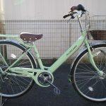 サカモトテクノ アンテロープブラン 女の子に好評の自転車に新色登場です