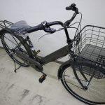 荷物たっぷりの通勤、お買い物に使いやすい自転車です