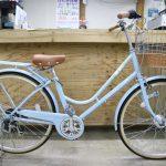 カワイイ&実用的な自転車です