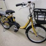 YAMAHA PAS SION-U 20インチ ゆっくり走る方向けの電動アシスト自転車です